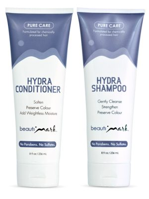 Daily Duo- Pure Care Shampoo & Conditioner for Human Hair BY BEA